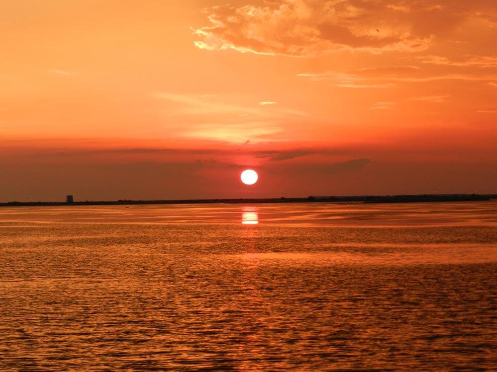 Ηλιοβασίλεμα στη Λευκάδα